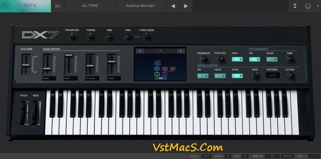 Arturia DX7 VST Free Download