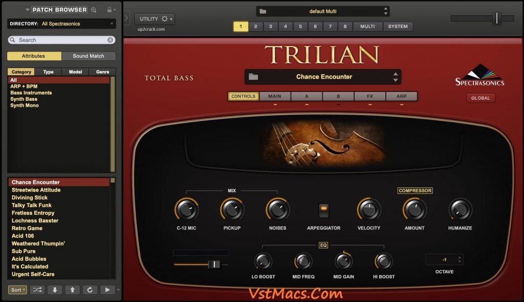 Spectrasonics Trilian VST Crack