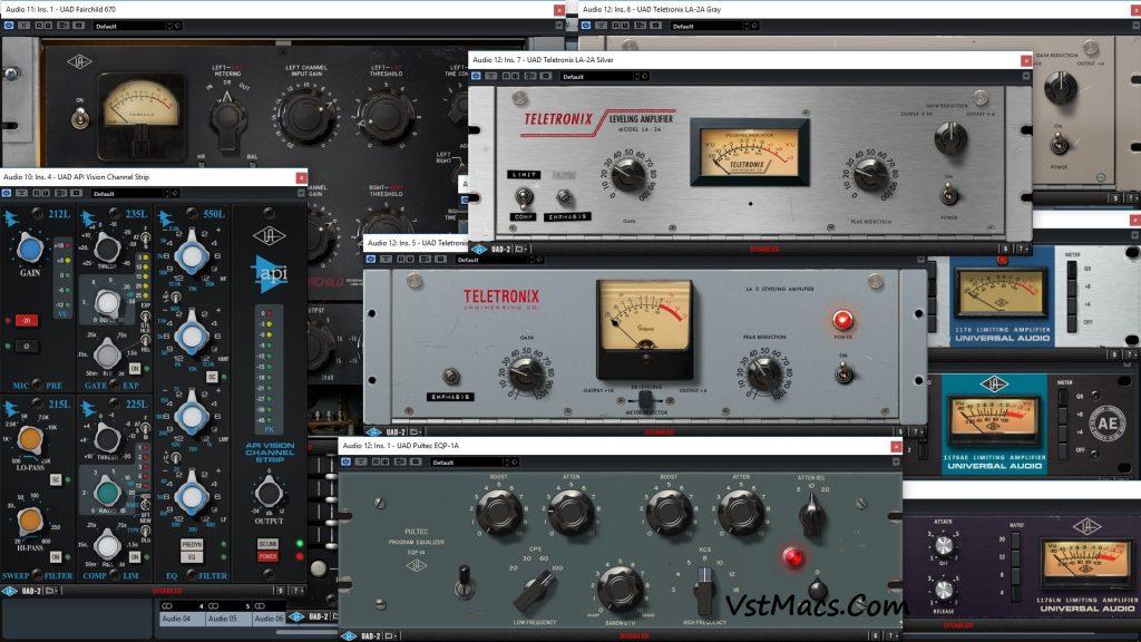 uad ultimate 8 bundle VST Crack