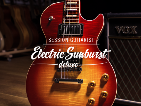NI Session Guitarist Electric Sunburst Kontakt Crack