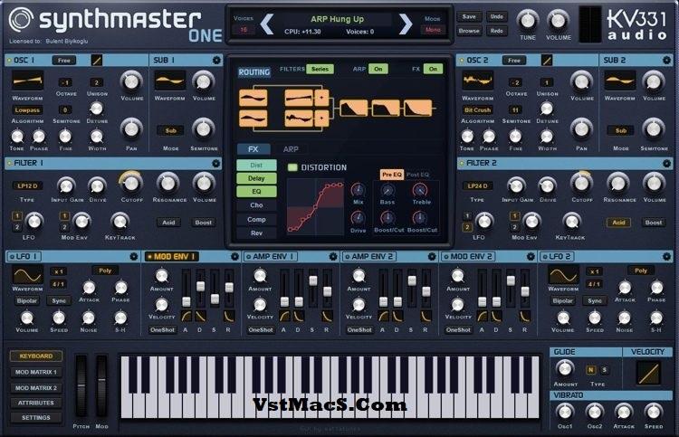 kv331 SynthMaster Crack